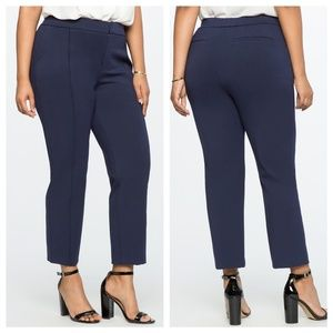 Eloquii 9 to 5 Stretch Work Cropped Pants 16L